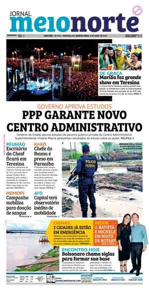 Jornal Meio Norte do dia 4-04-2019