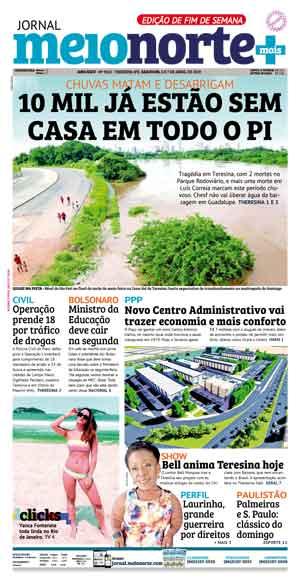 Jornal Meio Norte do dia 6-04-2019