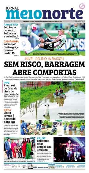Jornal Meio Norte do dia 8-04-2019