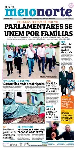 Jornal Meio Norte do dia 9-04-2019