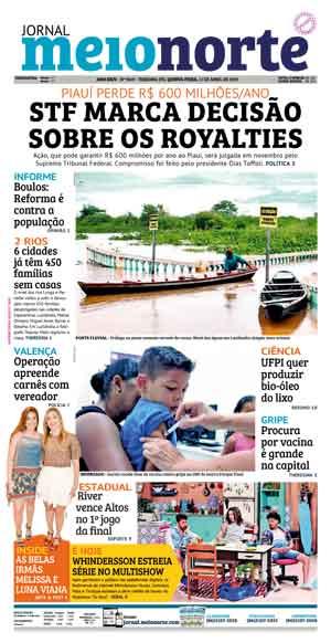 Jornal Meio Norte do dia 11-04-2019