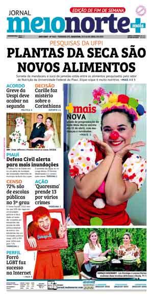 Jornal Meio Norte do dia 13-04-2019