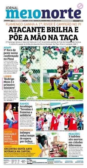 Jornal Meio Norte do dia 15-04-2019