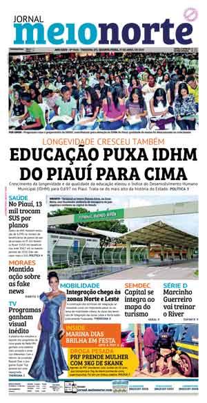 Jornal Meio Norte do dia 28-05-2017