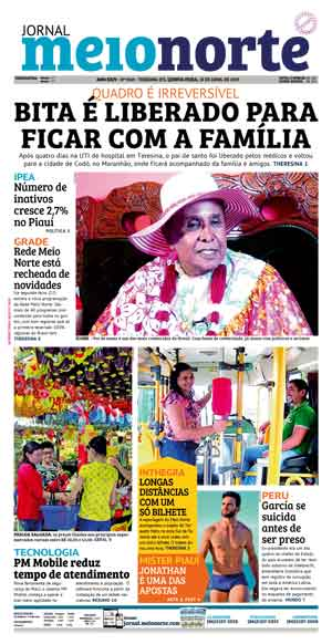 Jornal Meio Norte do dia 31-10-2008