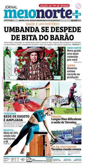 Jornal Meio Norte do dia 21-04-2019