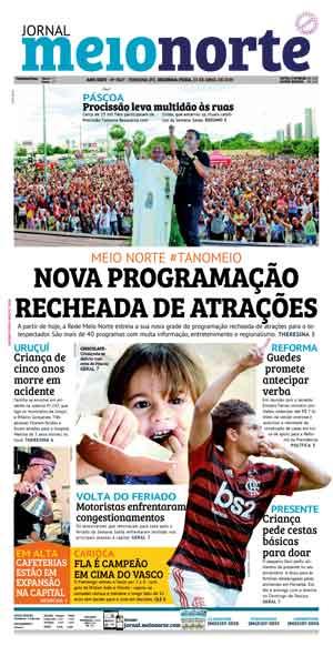 Jornal Meio Norte do dia 31-08-2012
