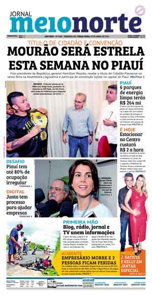 Jornal Meio Norte do dia 23-04-2019