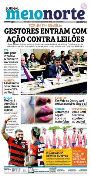 Jornal Meio Norte do dia 24-04-2019