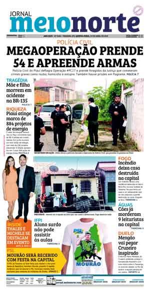 Jornal Meio Norte do dia 25-04-2019