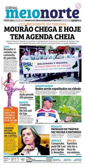 Jornal Meio Norte do dia 26-04-2019