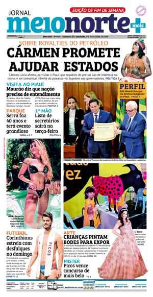 Jornal Meio Norte do dia 27-04-2019