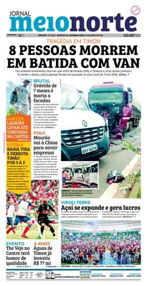 Jornal Meio Norte do dia 29-04-2019