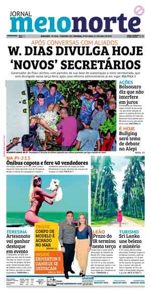 Jornal Meio Norte do dia 30-04-2019