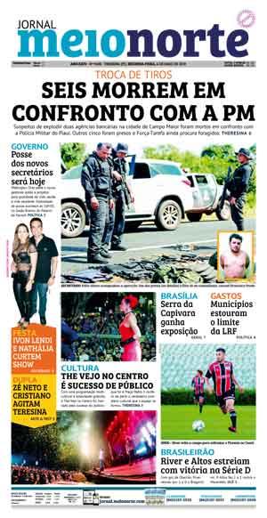 Jornal Meio Norte do dia 6-05-2019