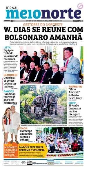Jornal Meio Norte do dia 7-05-2019