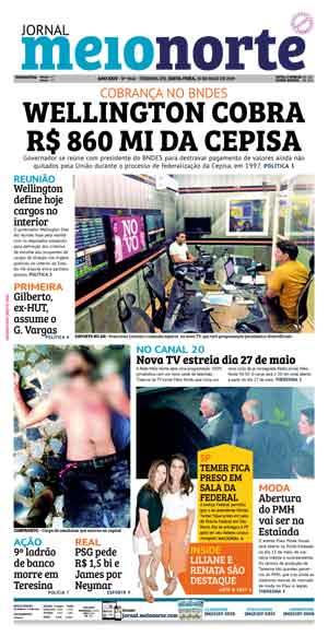 Jornal Meio Norte do dia 10-05-2019