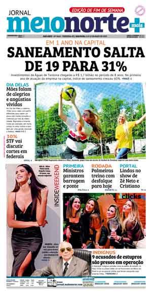 Jornal Meio Norte do dia 11-05-2019