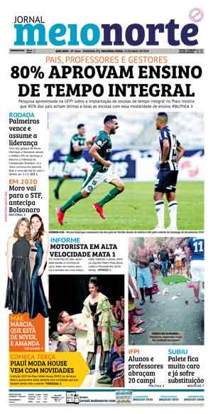 Jornal Meio Norte do dia 13-05-2019