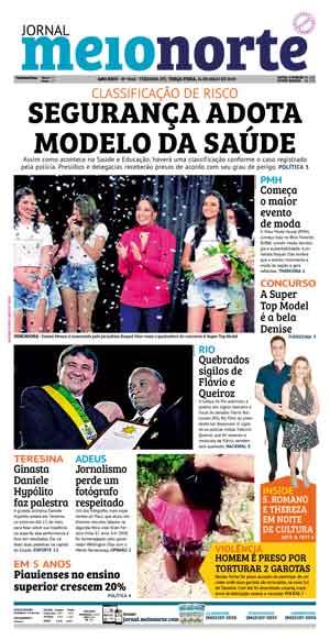Jornal Meio Norte do dia 14-05-2019