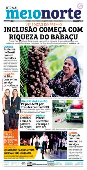 Jornal Meio Norte do dia 16-05-2019
