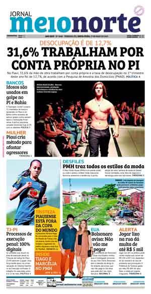 Jornal Meio Norte do dia 17-05-2019