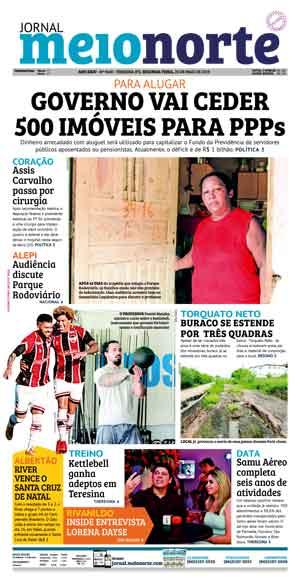 Jornal Meio Norte do dia 20-05-2019
