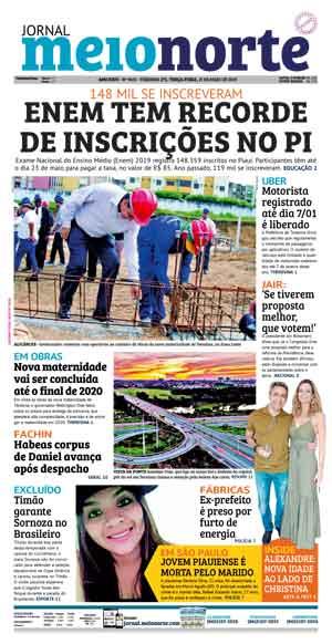 Jornal Meio Norte do dia 21-05-2019