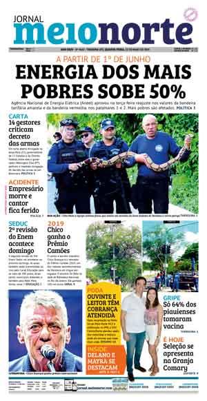 Jornal Meio Norte do dia 22-05-2019