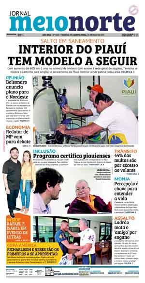 Jornal Meio Norte do dia 23-05-2019