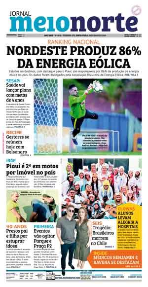 Jornal Meio Norte do dia 24-05-2019