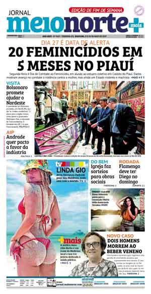 Jornal Meio Norte do dia 25-05-2019