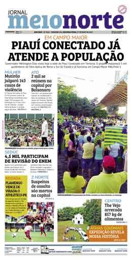 Jornal Meio Norte do dia 27-05-2019