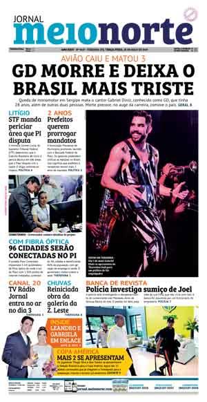 Jornal Meio Norte do dia 28-05-2019