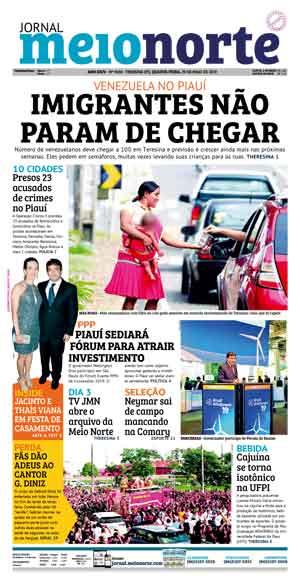 Jornal Meio Norte do dia 29-05-2019