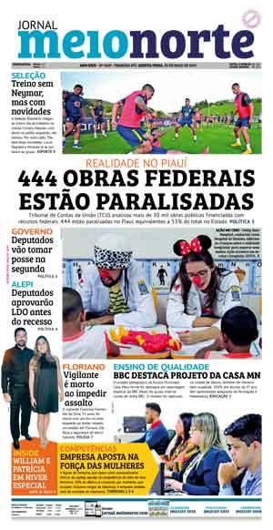 Jornal Meio Norte do dia 30-05-2019