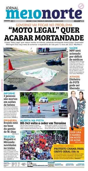 Jornal Meio Norte do dia 31-05-2019
