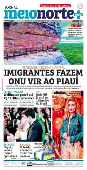 Jornal Meio Norte do dia 1-06-2019