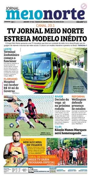 Jornal Meio Norte do dia 3-06-2019