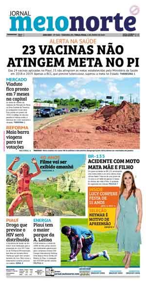 Jornal Meio Norte do dia 4-06-2019