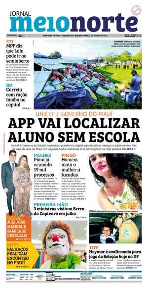 Jornal Meio Norte do dia 5-06-2019