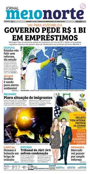 Jornal Meio Norte do dia 6-06-2019