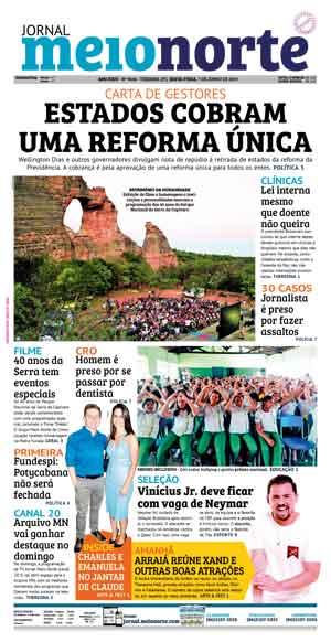 Jornal Meio Norte do dia 7-06-2019