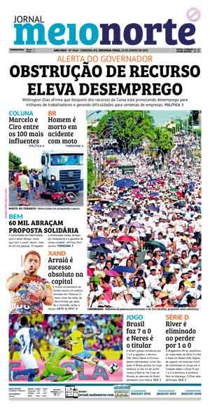 Jornal Meio Norte do dia 10-06-2019