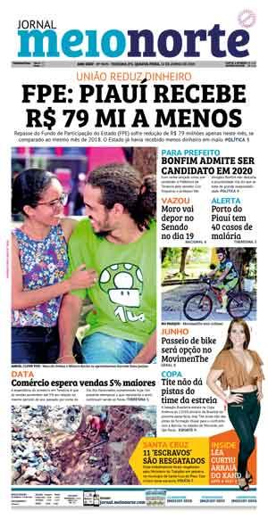 Jornal Meio Norte do dia 12-06-2019