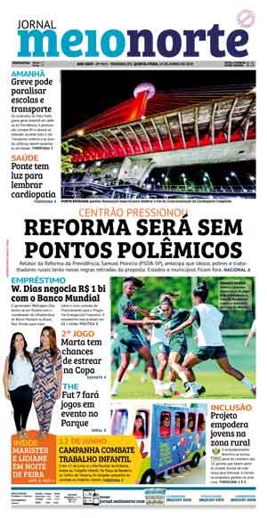 Jornal Meio Norte do dia 13-06-2019