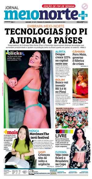 Jornal Meio Norte do dia 15-06-2019