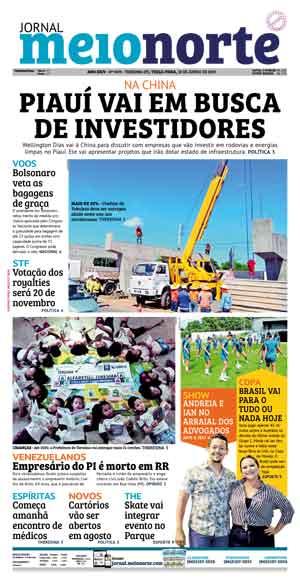 Jornal Meio Norte do dia 31-12-2009