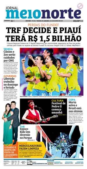 Jornal Meio Norte do dia 31-01-2011