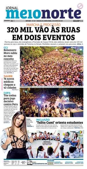 Jornal Meio Norte do dia 21-06-2019